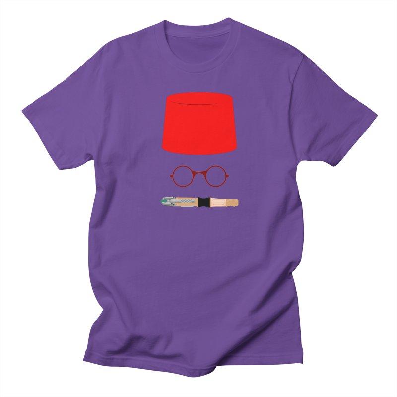 Tuxedo Who Men's T-Shirt by slvrhwks's Artist Shop