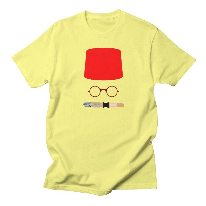 Tuxedo Who Women's Regular Unisex T-Shirt by slvrhwks's Artist Shop