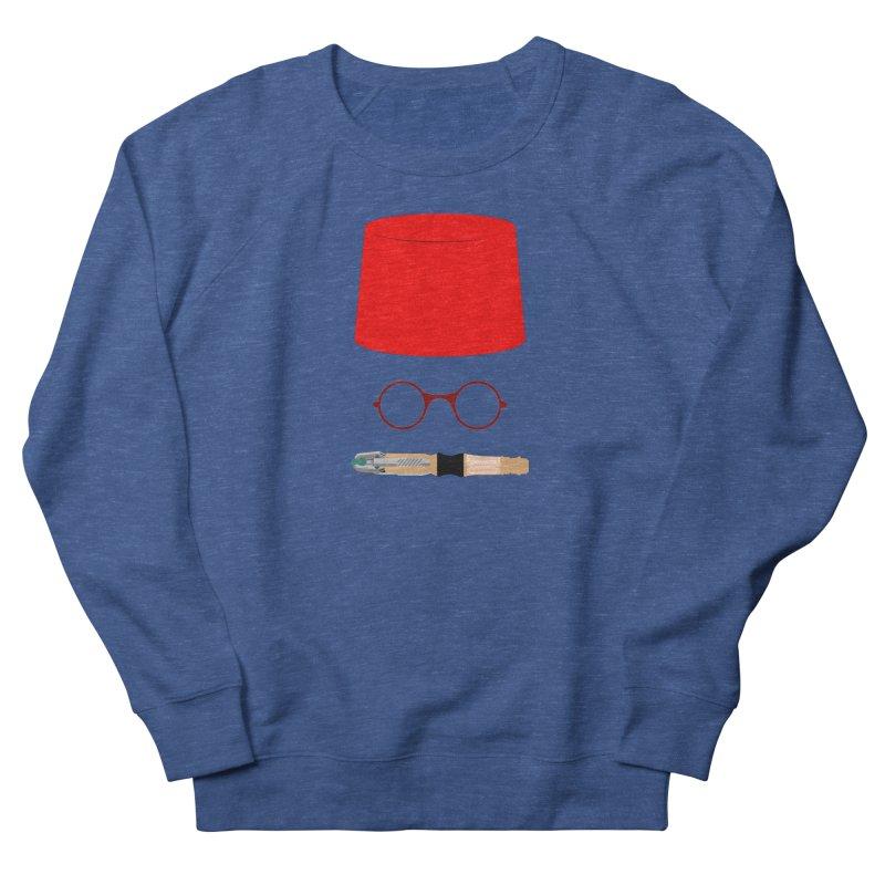 Tuxedo Who Women's French Terry Sweatshirt by slvrhwks's Artist Shop