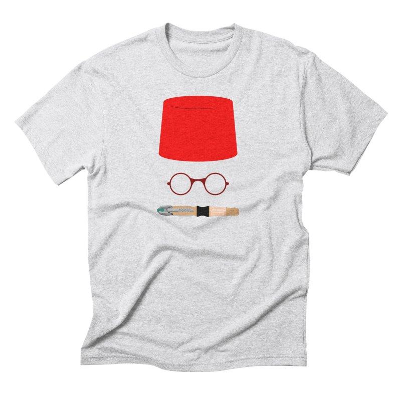 Tuxedo Who Men's Triblend T-Shirt by slvrhwks's Artist Shop