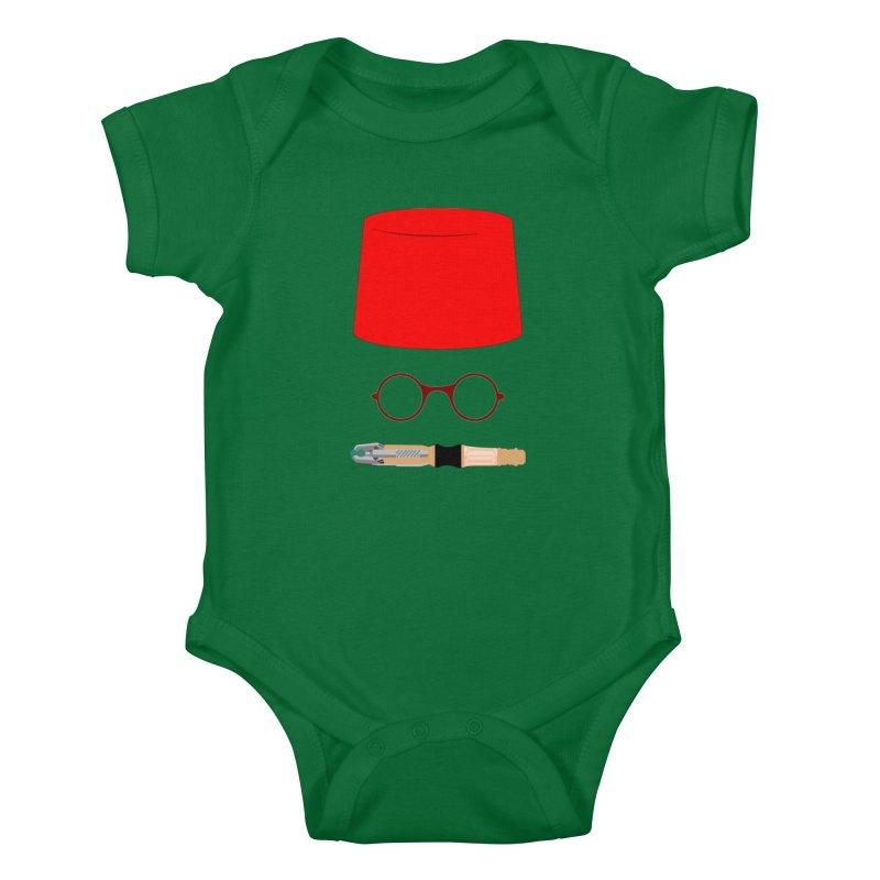 Tuxedo Who Kids Baby Bodysuit by slvrhwks's Artist Shop