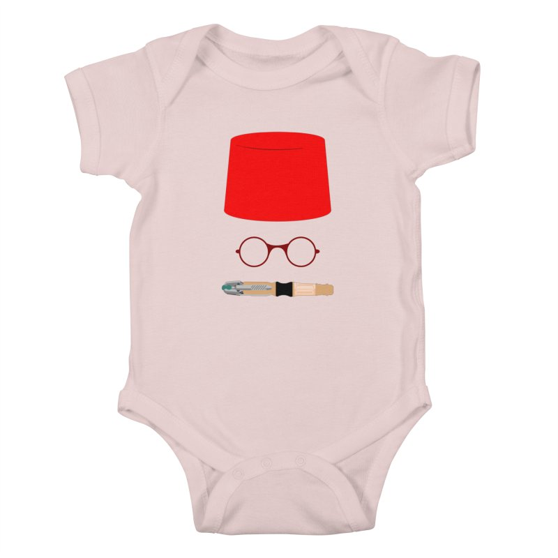 Tuxedo Who Kids Baby Bodysuit by slvrhwks's Artist Shop