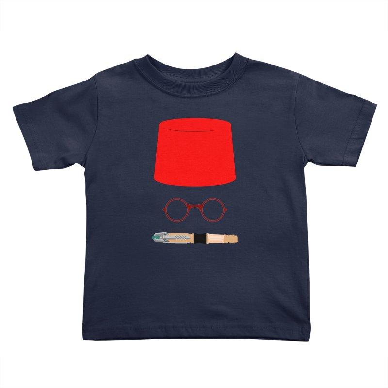 Tuxedo Who Kids Toddler T-Shirt by slvrhwks's Artist Shop