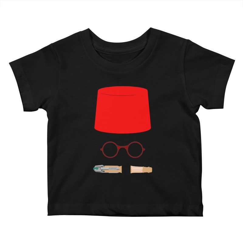 Tuxedo Who Kids Baby T-Shirt by slvrhwks's Artist Shop