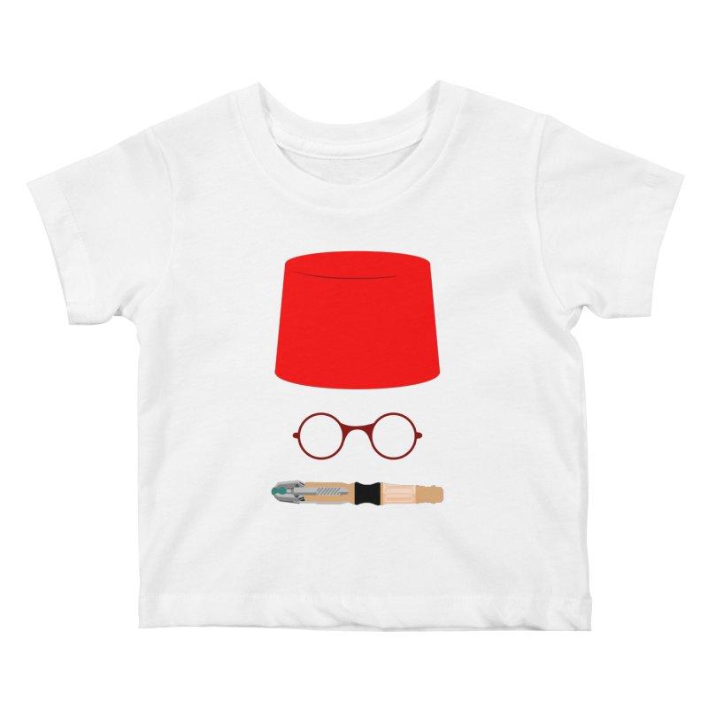 Tuxedo Who Kids Baby T-Shirt by slvrhwks's Artist Shop