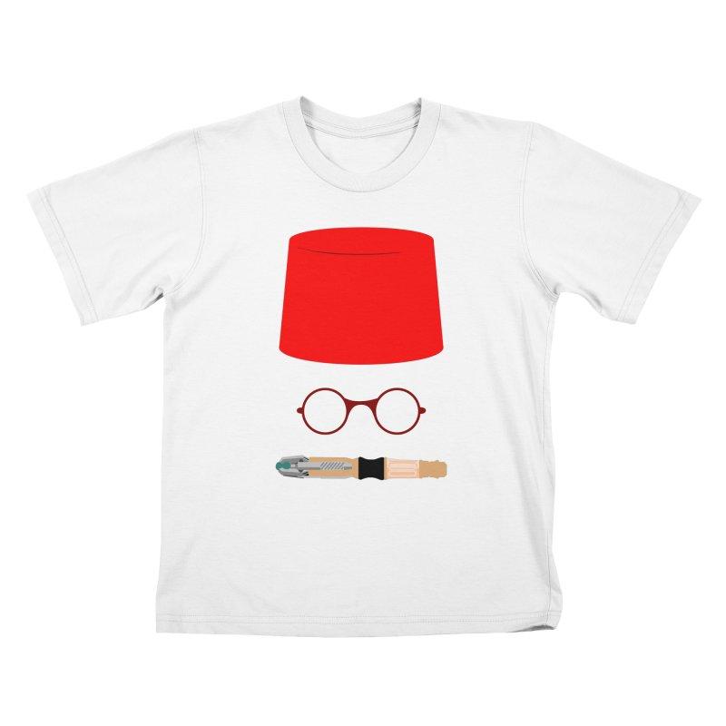Tuxedo Who Kids T-Shirt by slvrhwks's Artist Shop