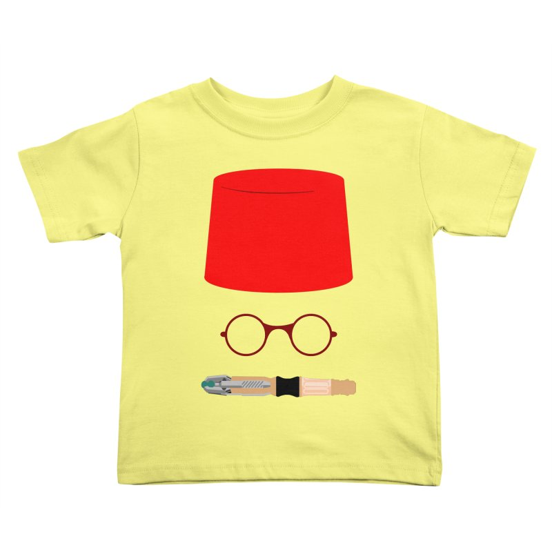 Tuxedo Who Kids Toddler T-Shirt by slvrhwks's Artist Shop