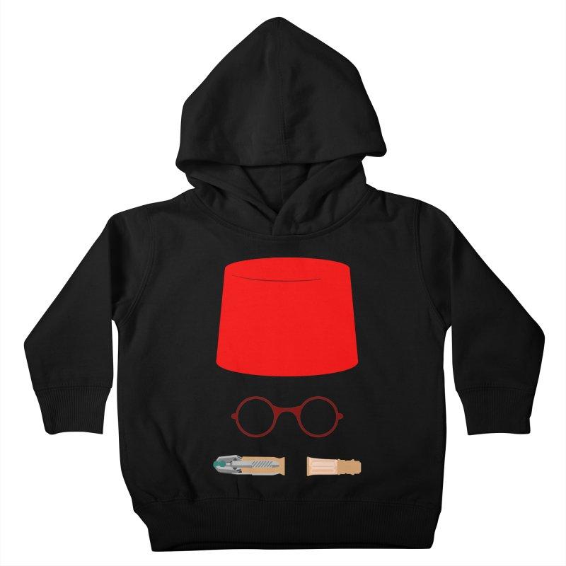 Tuxedo Who Kids Toddler Pullover Hoody by slvrhwks's Artist Shop