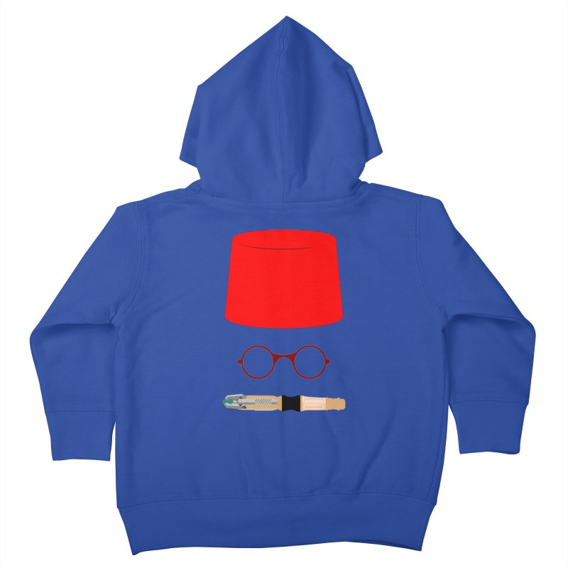 Tuxedo Who Kids Toddler Zip-Up Hoody by slvrhwks's Artist Shop