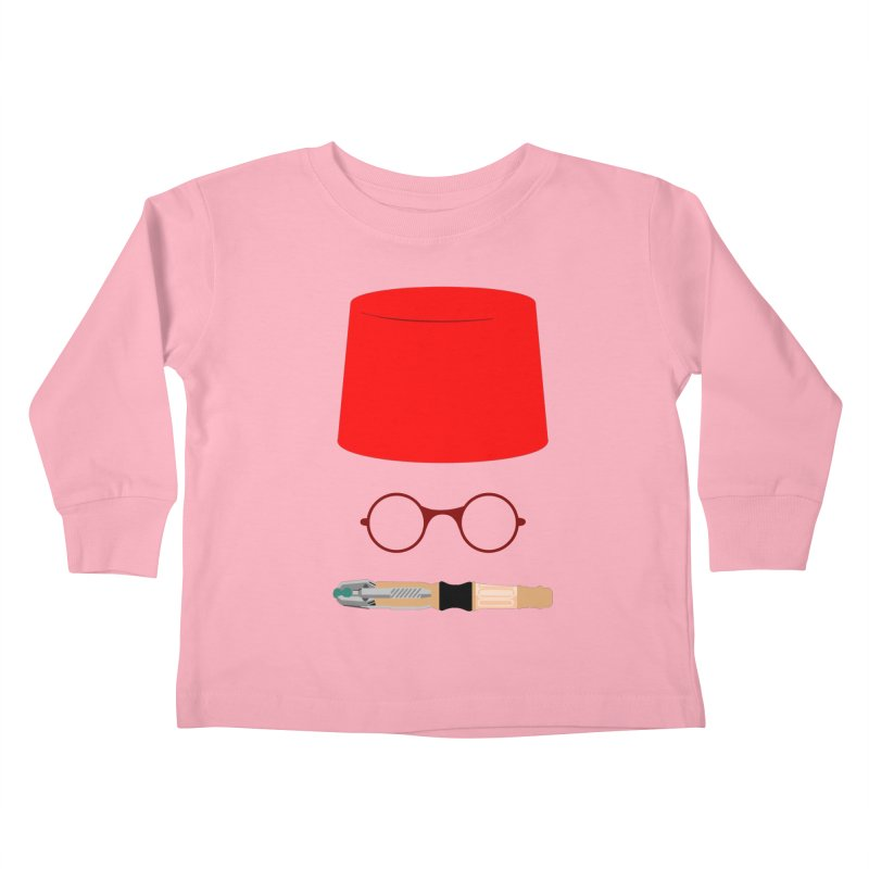 Tuxedo Who Kids Toddler Longsleeve T-Shirt by slvrhwks's Artist Shop