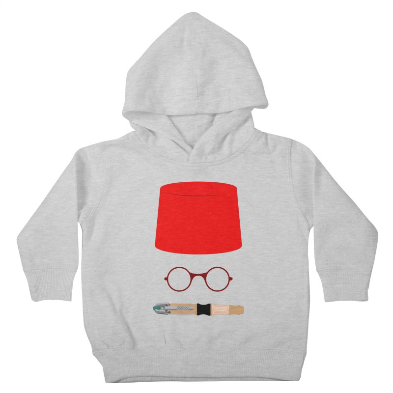 Tuxedo Who Kids Toddler Pullover Hoody by slvrhwks's Artist Shop