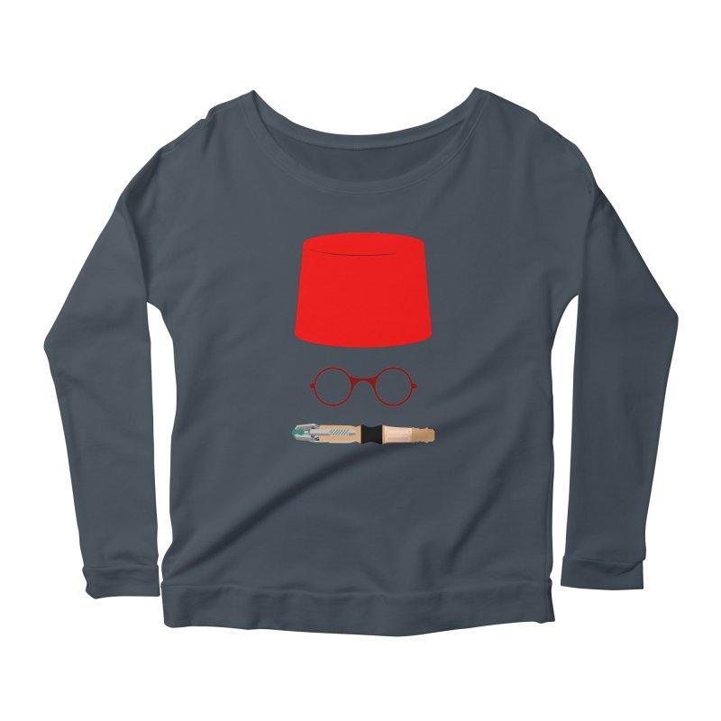 Tuxedo Who Women's Longsleeve T-Shirt by slvrhwks's Artist Shop