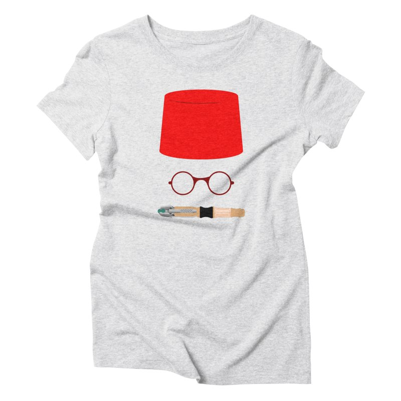 Tuxedo Who Women's T-Shirt by slvrhwks's Artist Shop