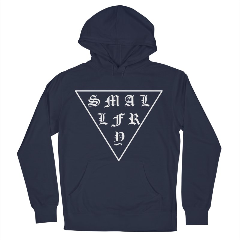 Tri (white) Men's Pullover Hoody by SMALLFRY ARMY GENERAL STORE