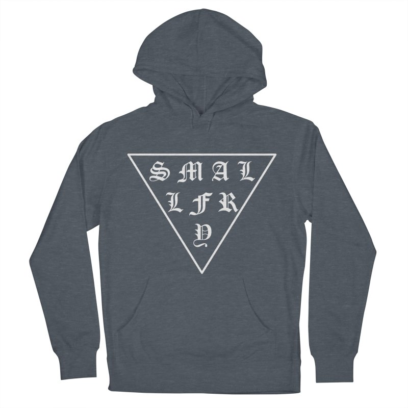 Tri (white) Women's French Terry Pullover Hoody by SMALLFRY ARMY GENERAL STORE