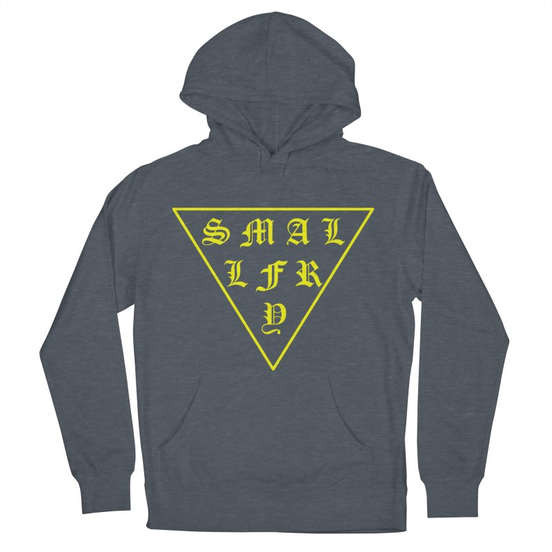 Tri (maize) Men's French Terry Pullover Hoody by SMALLFRY ARMY GENERAL STORE
