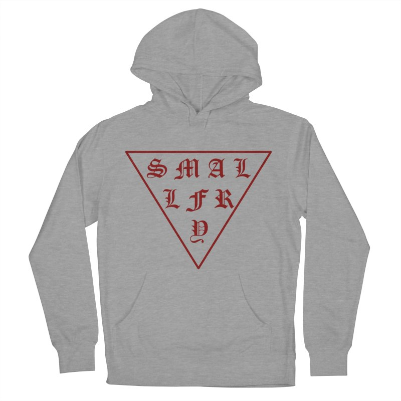 Tri (maroon) Men's Pullover Hoody by SMALLFRY ARMY GENERAL STORE