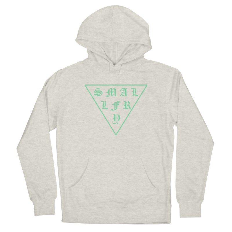 Tri (seafoam) Women's French Terry Pullover Hoody by SMALLFRY ARMY GENERAL STORE
