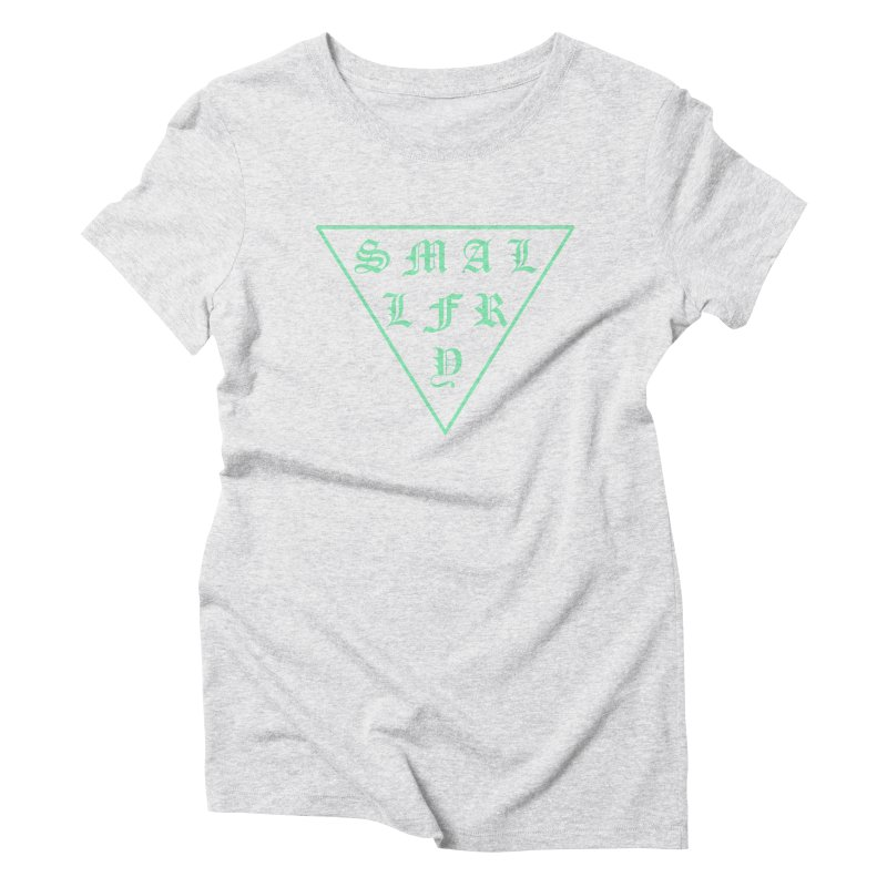 Tri (seafoam) Women's T-Shirt by SMALLFRY ARMY GENERAL STORE