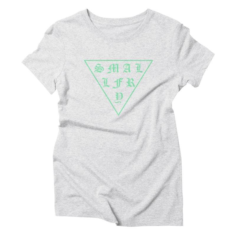 Tri (seafoam) Women's Triblend T-Shirt by SMALLFRY ARMY GENERAL STORE