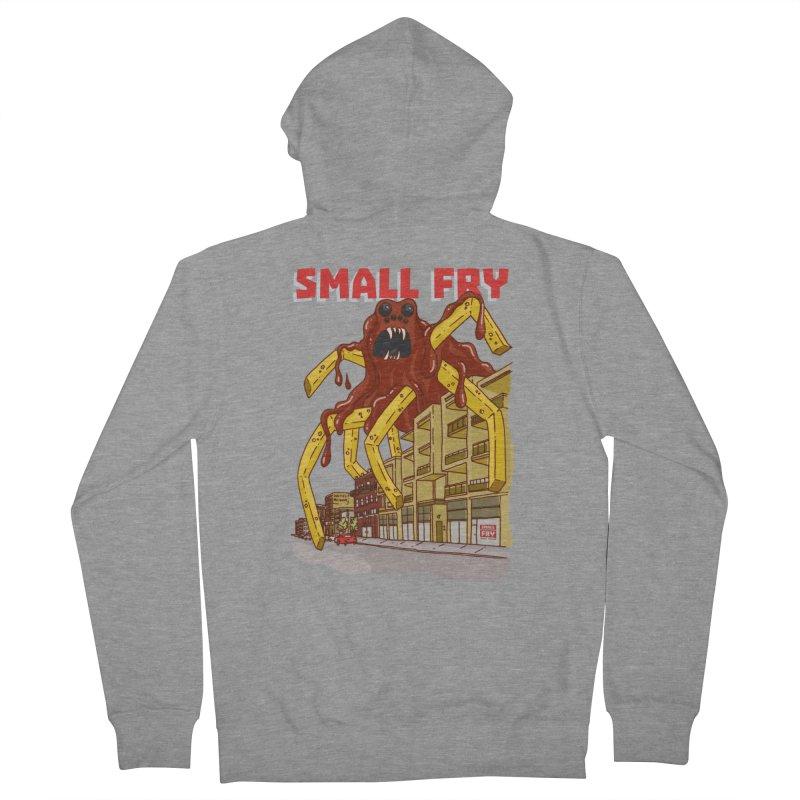 Frymonster Men's Zip-Up Hoody by SMALLFRY ARMY GENERAL STORE