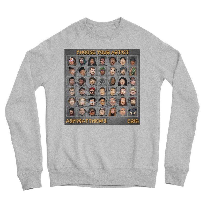 CRIB Mortal Kombat Cover Men's Sponge Fleece Sweatshirt by Smart Boy Merch