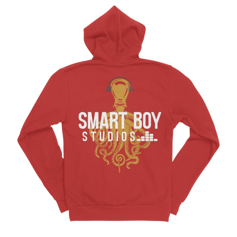 Smart Boy Studios Logo Men's Sponge Fleece Zip-Up Hoody by Smart Boy Merch