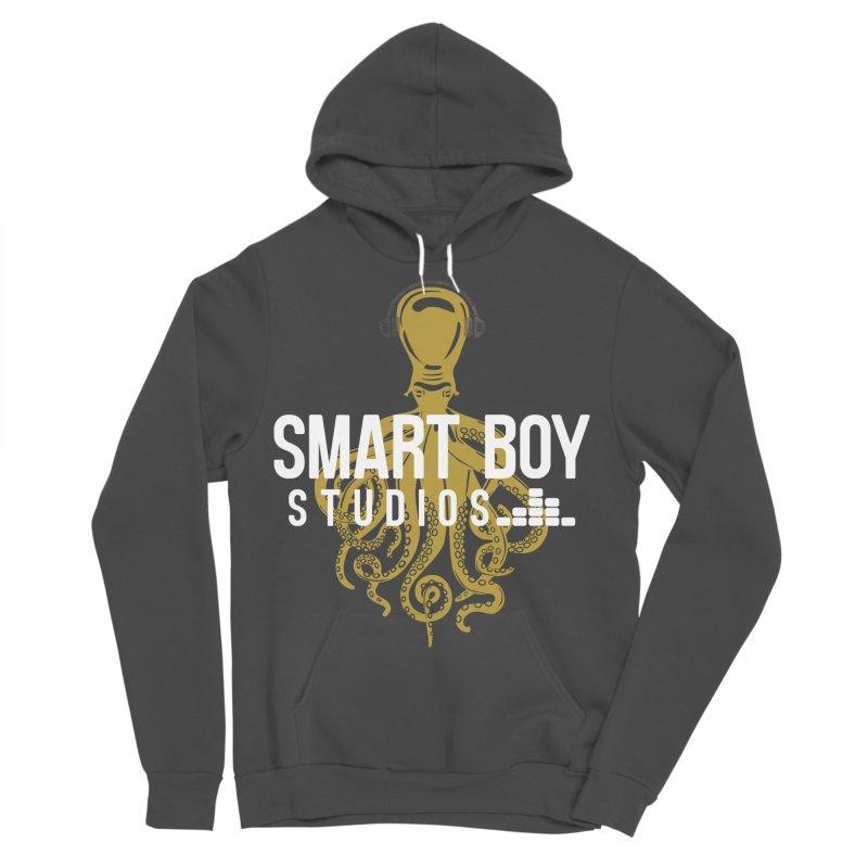 Smart Boy Studios Logo Men's Sponge Fleece Pullover Hoody by Smart Boy Merch