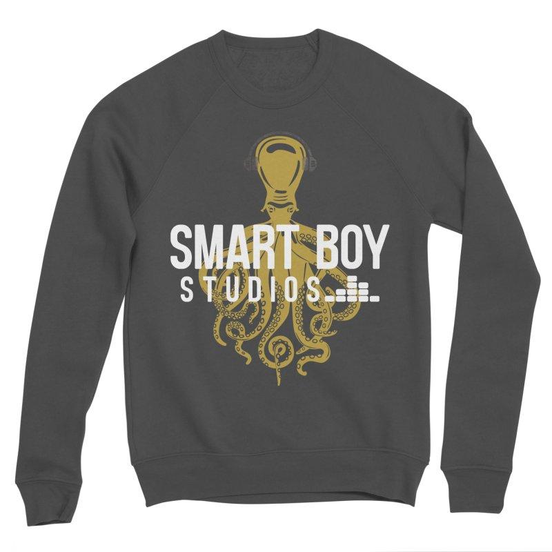 Smart Boy Studios Logo Men's Sponge Fleece Sweatshirt by Smart Boy Merch