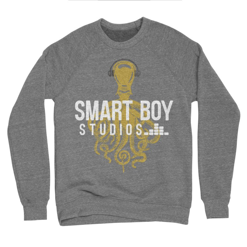 Smart Boy Studios Logo Men's Sponge Fleece Sweatshirt by Smart Boy Merch