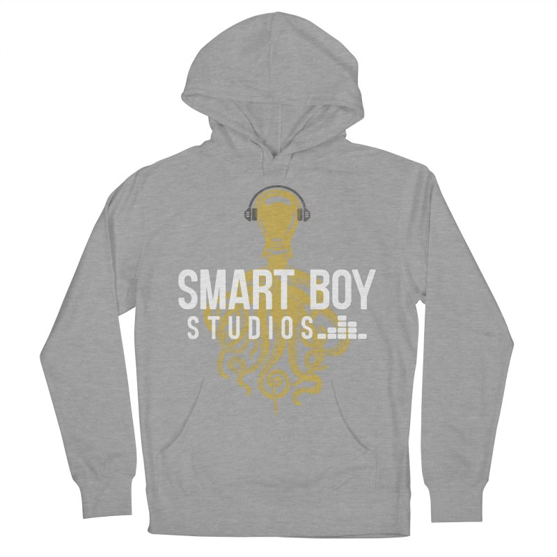 Smart Boy Studios Logo Men's French Terry Pullover Hoody by Smart Boy Merch