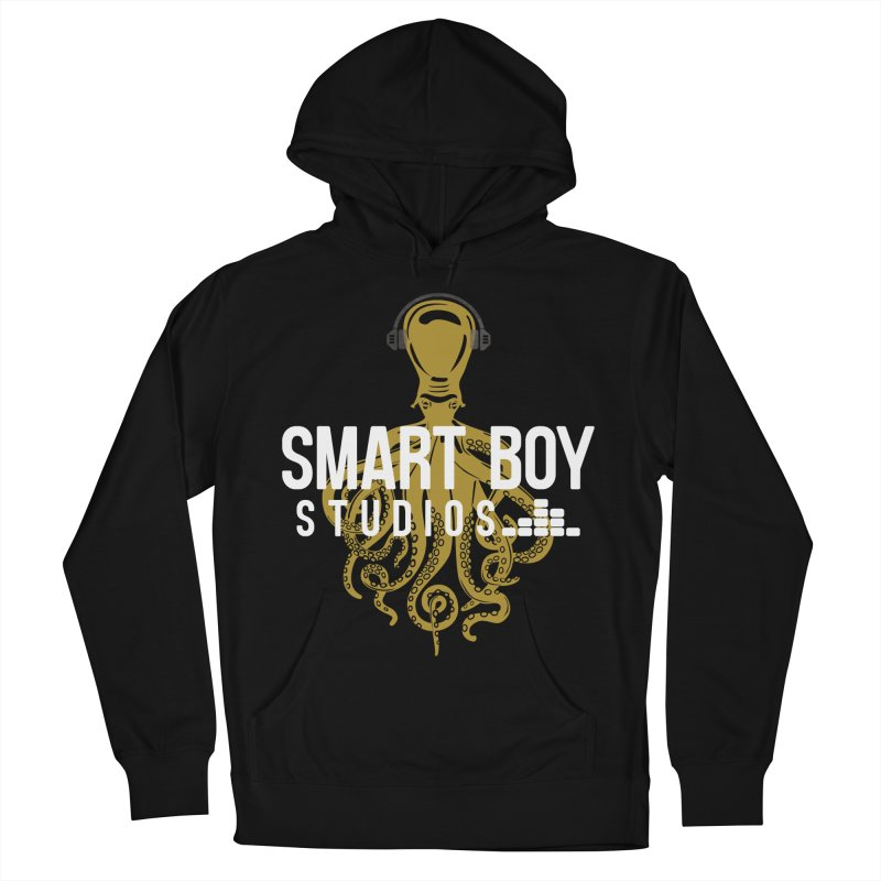 Smart Boy Studios Logo Men's French Terry Pullover Hoody by Smart Boy Merch