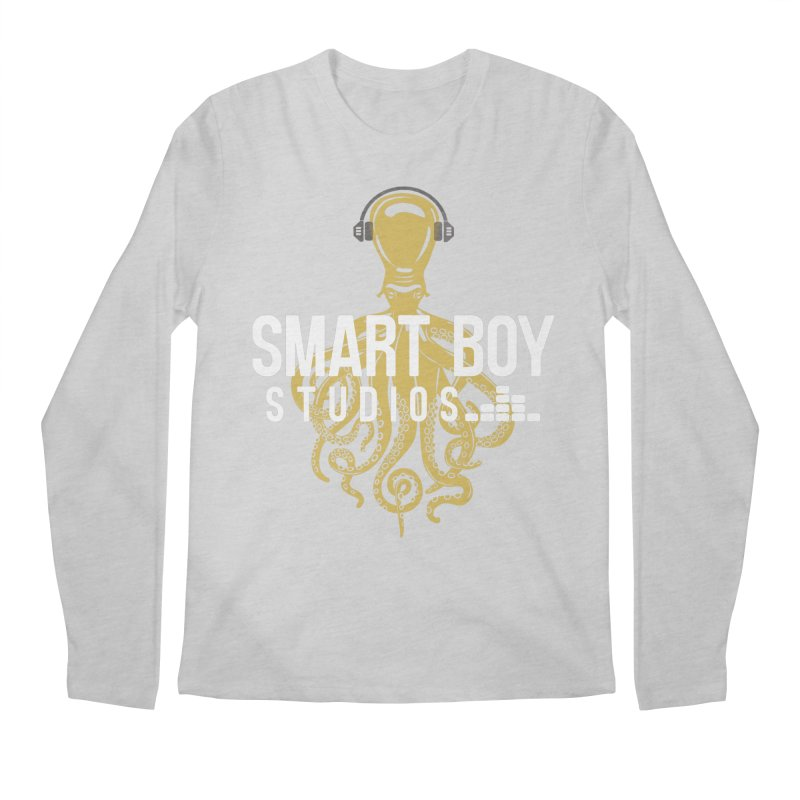 Smart Boy Studios Logo Men's Longsleeve T-Shirt by Smart Boy Merch