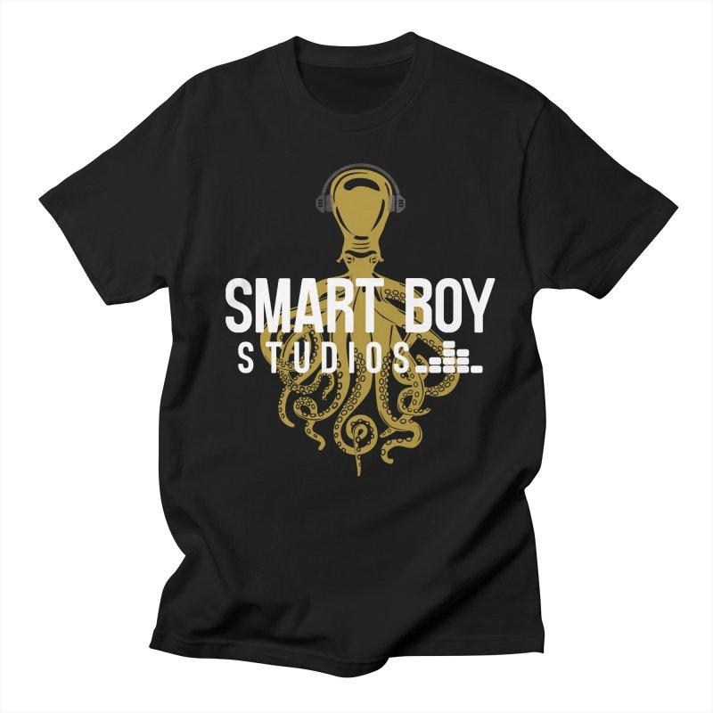 Smart Boy Studios Logo Men's Regular T-Shirt by Smart Boy Merch