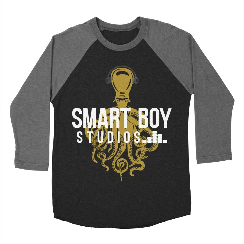 Smart Boy Studios Logo Men's Baseball Triblend Longsleeve T-Shirt by Smart Boy Merch