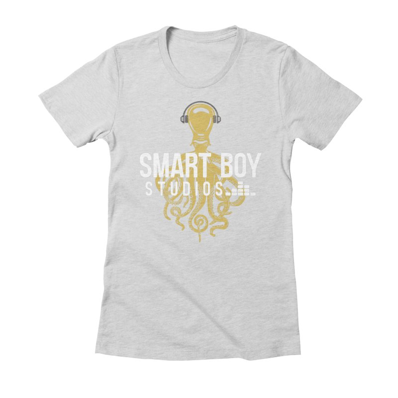 Smart Boy Studios Logo Women's Fitted T-Shirt by Smart Boy Merch