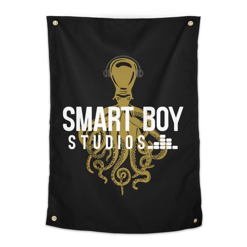 Smart Boy Studios Logo Home Tapestry by Smart Boy Merch