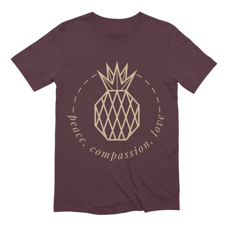 Peace Compassion Love Men's Extra Soft T-Shirt by Smart Boy Merch