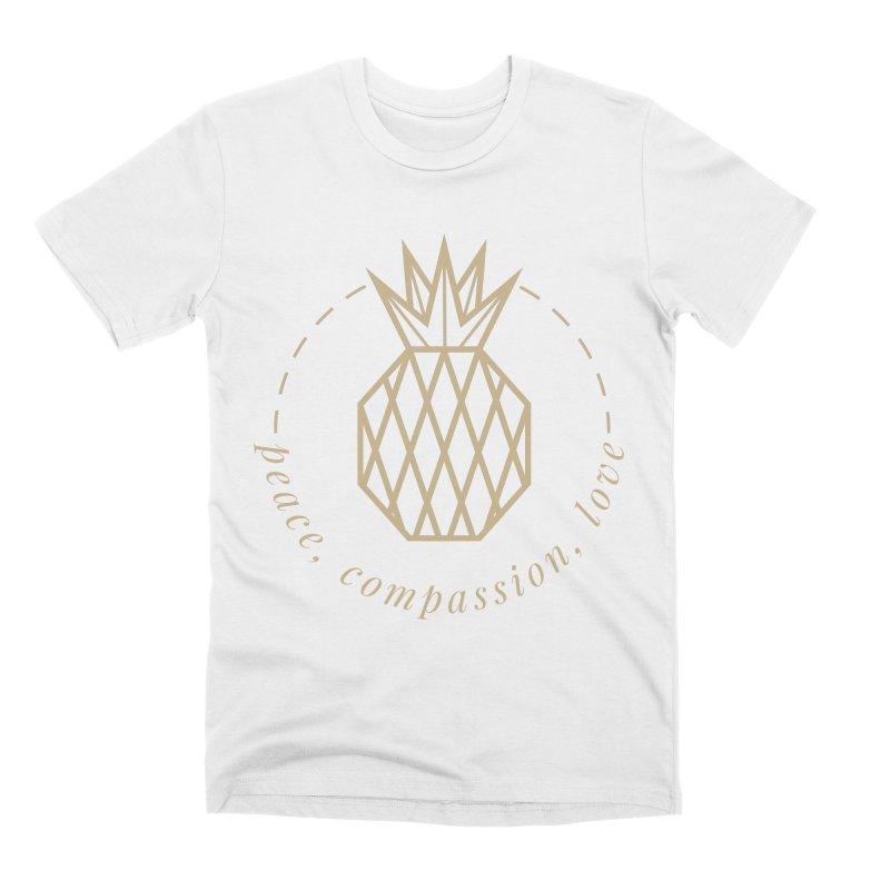 Peace Compassion Love Men's Premium T-Shirt by Smart Boy Merch