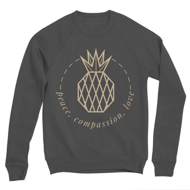 Peace Compassion Love Men's Sponge Fleece Sweatshirt by Smart Boy Merch