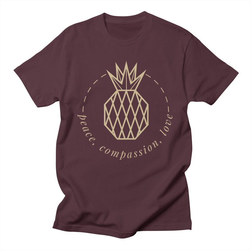 Peace Compassion Love Men's T-Shirt by Smart Boy Merch