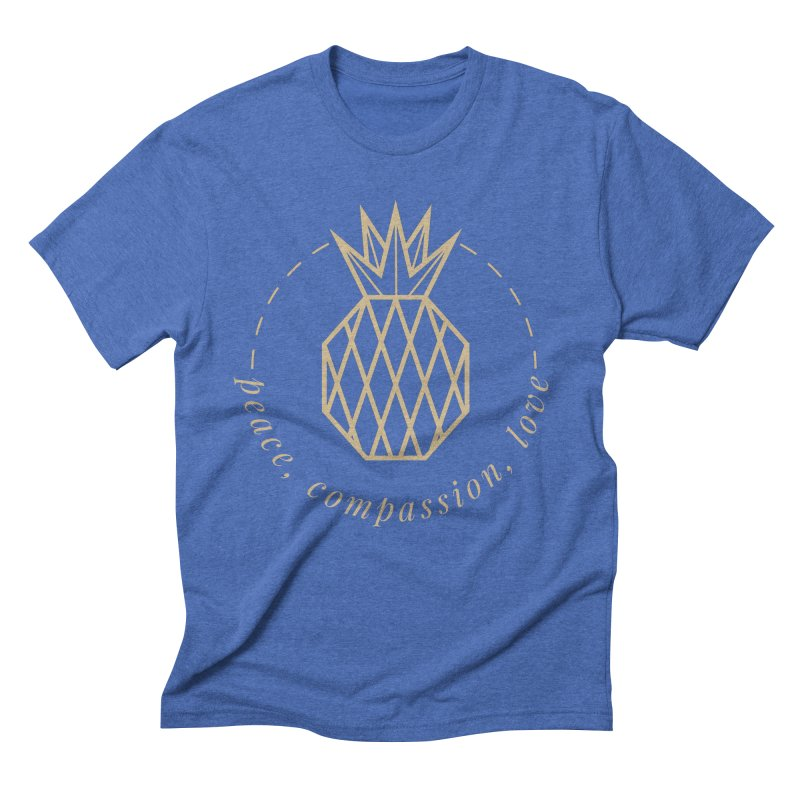 Peace Compassion Love Men's T-Shirt by Smart Boy Merch