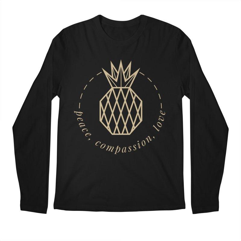 Peace Compassion Love Men's Regular Longsleeve T-Shirt by Smart Boy Merch