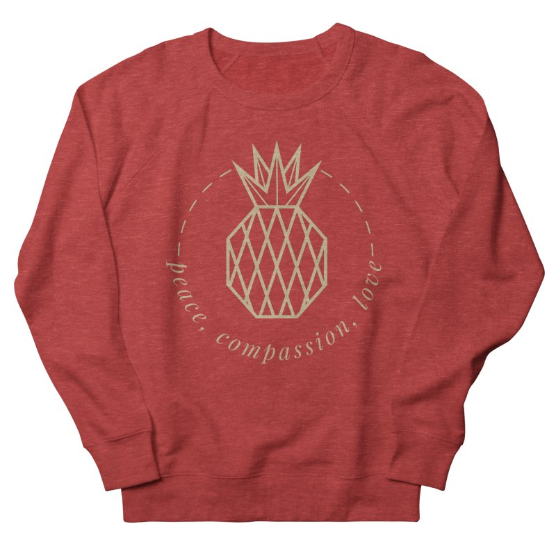 Peace Compassion Love Men's Sweatshirt by Smart Boy Merch
