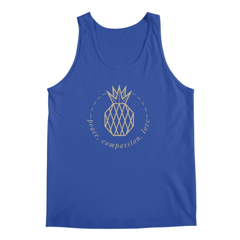 Peace Compassion Love Men's Regular Tank by Smart Boy Merch
