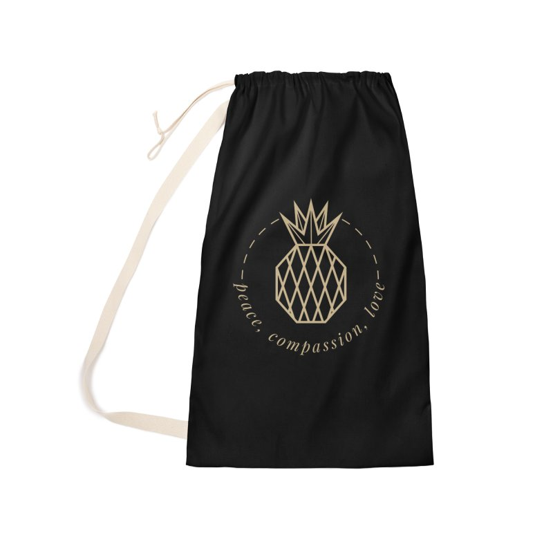 Peace Compassion Love Accessories Bag by Smart Boy Merch