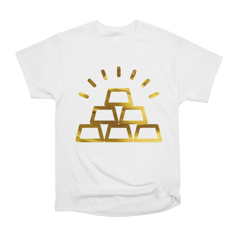 STACKS Men's Heavyweight T-Shirt by Smart Boy Merch