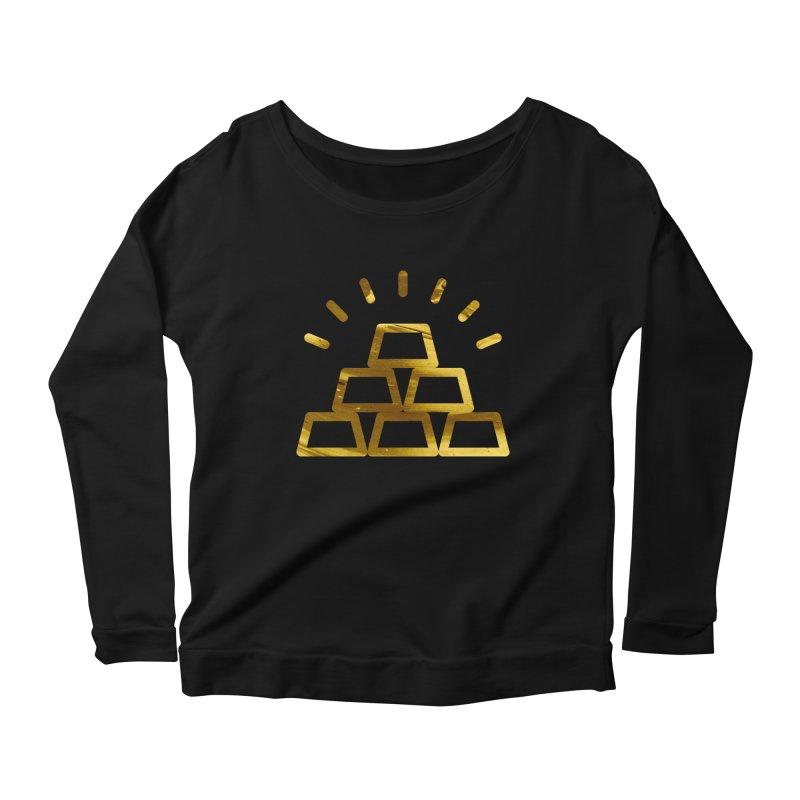 STACKS Women's Scoop Neck Longsleeve T-Shirt by Smart Boy Merch