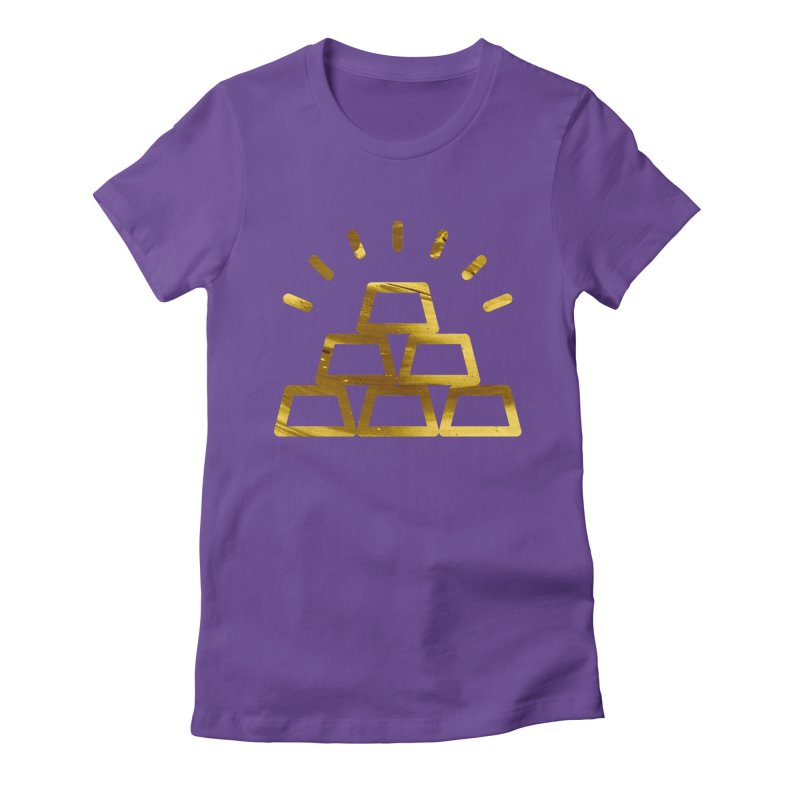 STACKS Women's Fitted T-Shirt by Smart Boy Merch