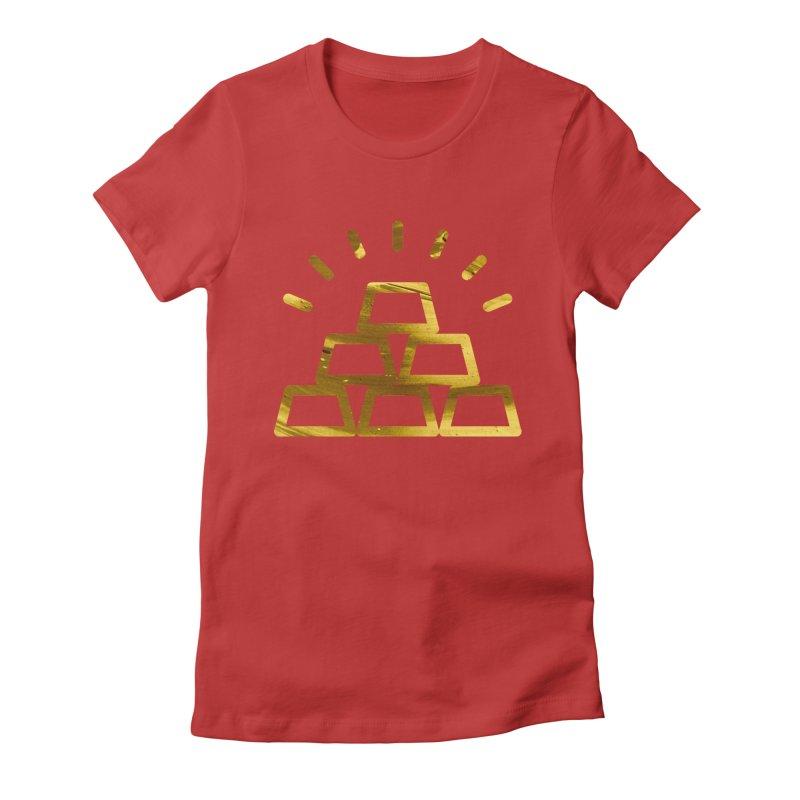 STACKS Women's Fitted T-Shirt by Smart Boy Merch